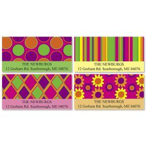 Retro Spectrum Deluxe Address Labels  (4 Designs)