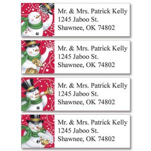 Snowmakers Classic Address Labels   (4 Designs)