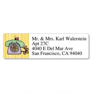 Sue Dreamer Classic Address Labels  (6 Designs)