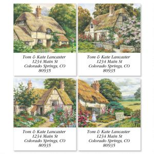 Peaceful Cottage Select Address Labels   (4 Designs)