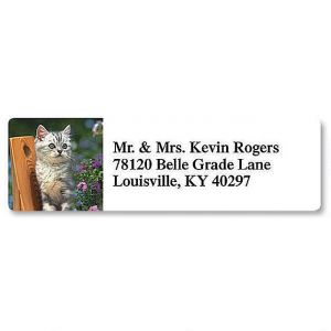 Picture Purrfect Classic Address Labels  (8 Designs)