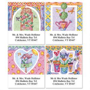 Garden's Gate   Select Address Labels  (4 Designs)