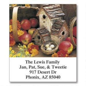 All-Seasons Birdhouses Select Address Labels  (12 Designs)