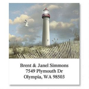 Seasons Lighthouses Select Address Labels  (6 Designs)