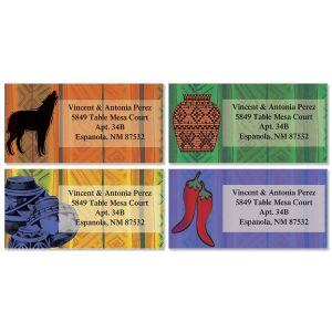 Southwest Border Address Labels  (4 designs)