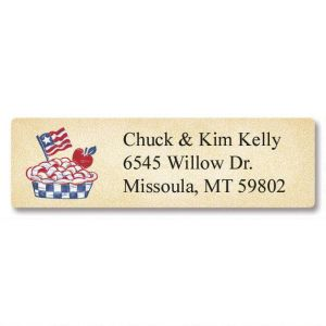 Country Americana  Classic Address Labels  (6 designs)
