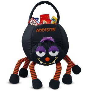 Crazy Legs Spider Treat Basket