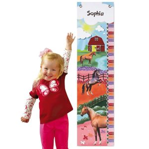 Horse Personalized Growth Chart
