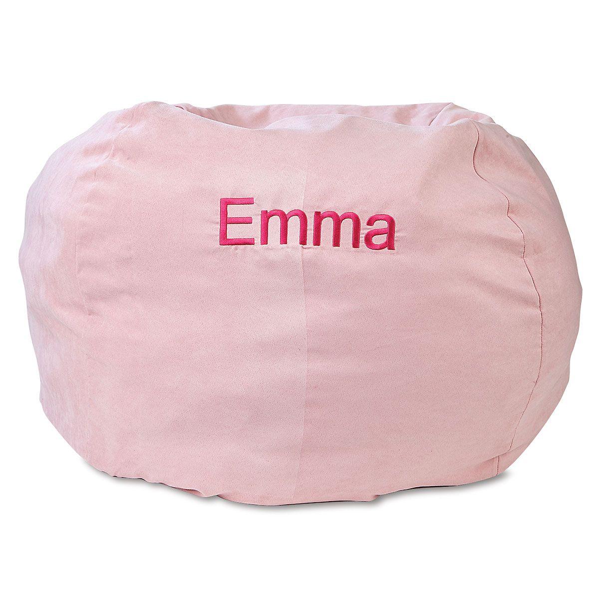 Custom Pink Bean Bag Chair
