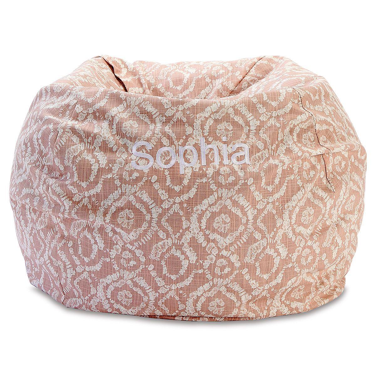 Custom Blush Bean Bag Chair