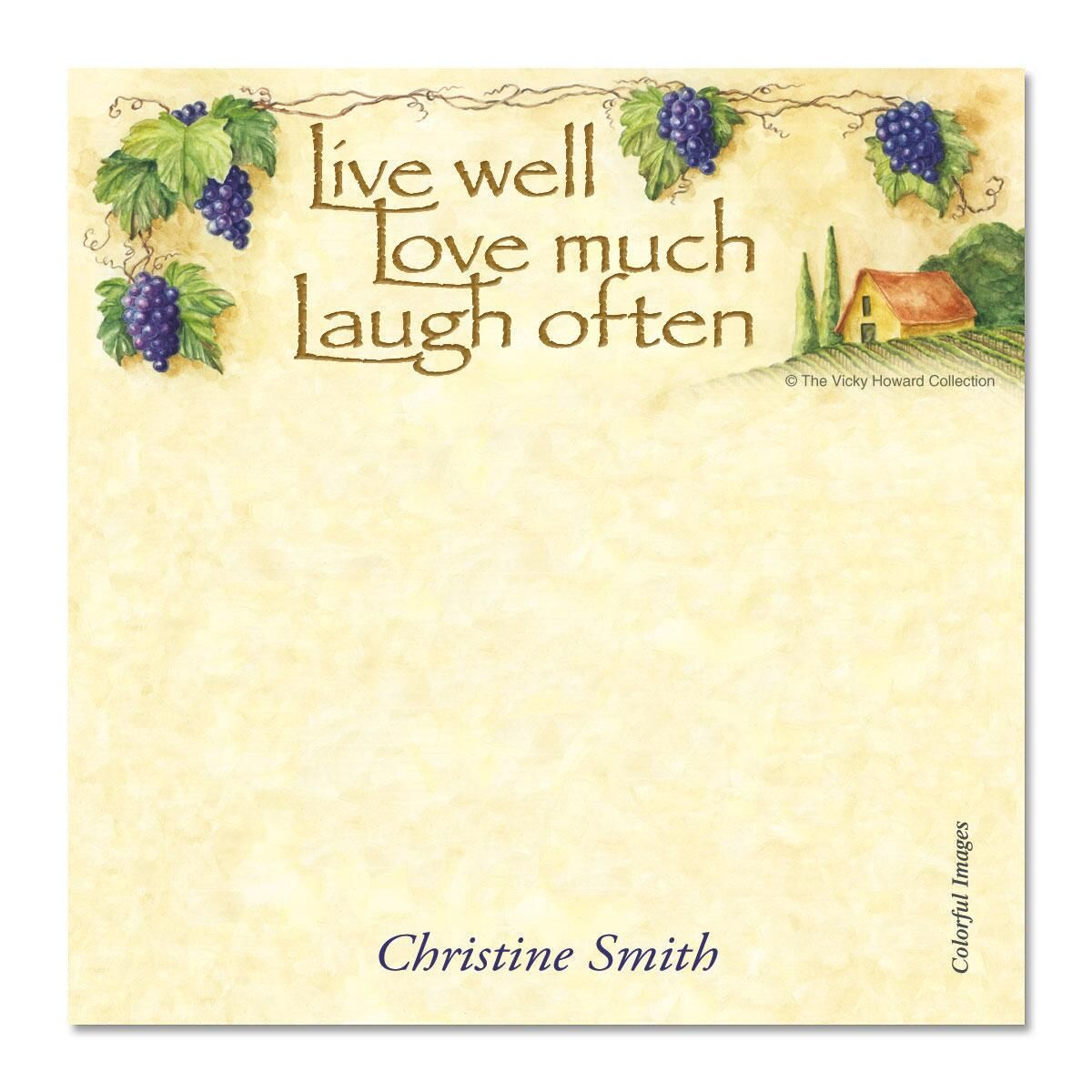 Live, Love, Laugh Cube  Refill