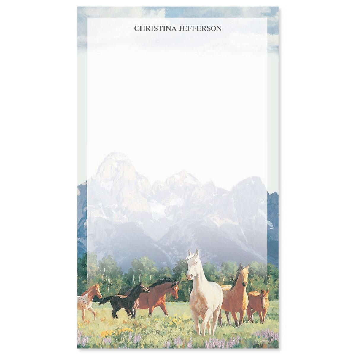 Beauty in the Wild Custom Memo Pads