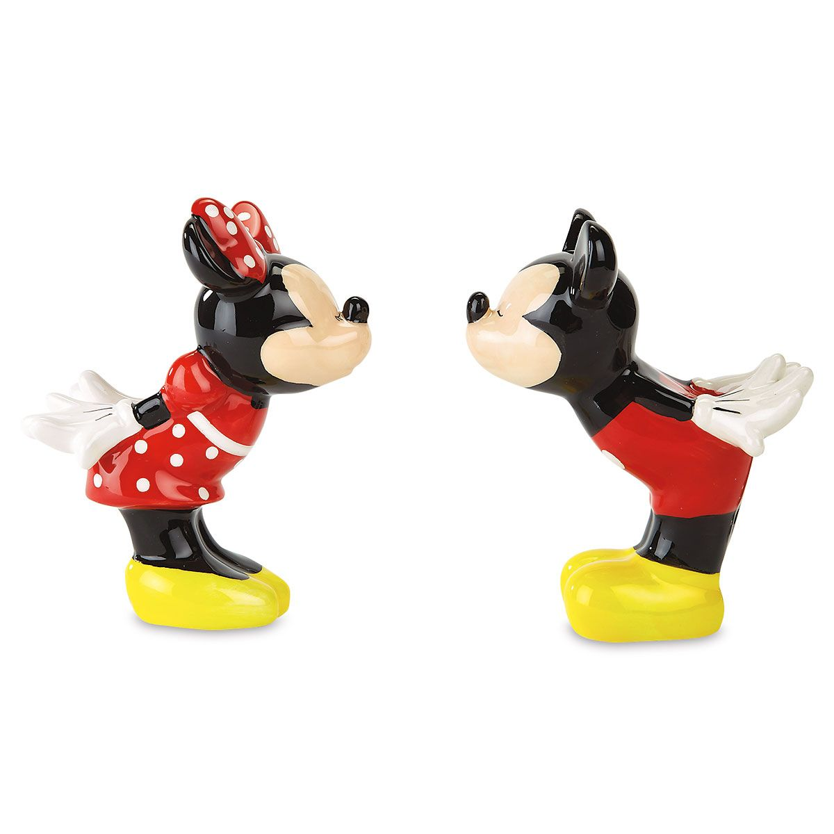 Mickey & Minnie Mouse Salt and Pepper Shakers