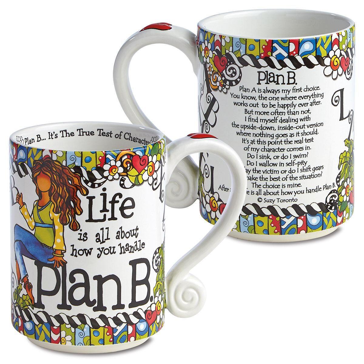 Plan B Novelty Mug