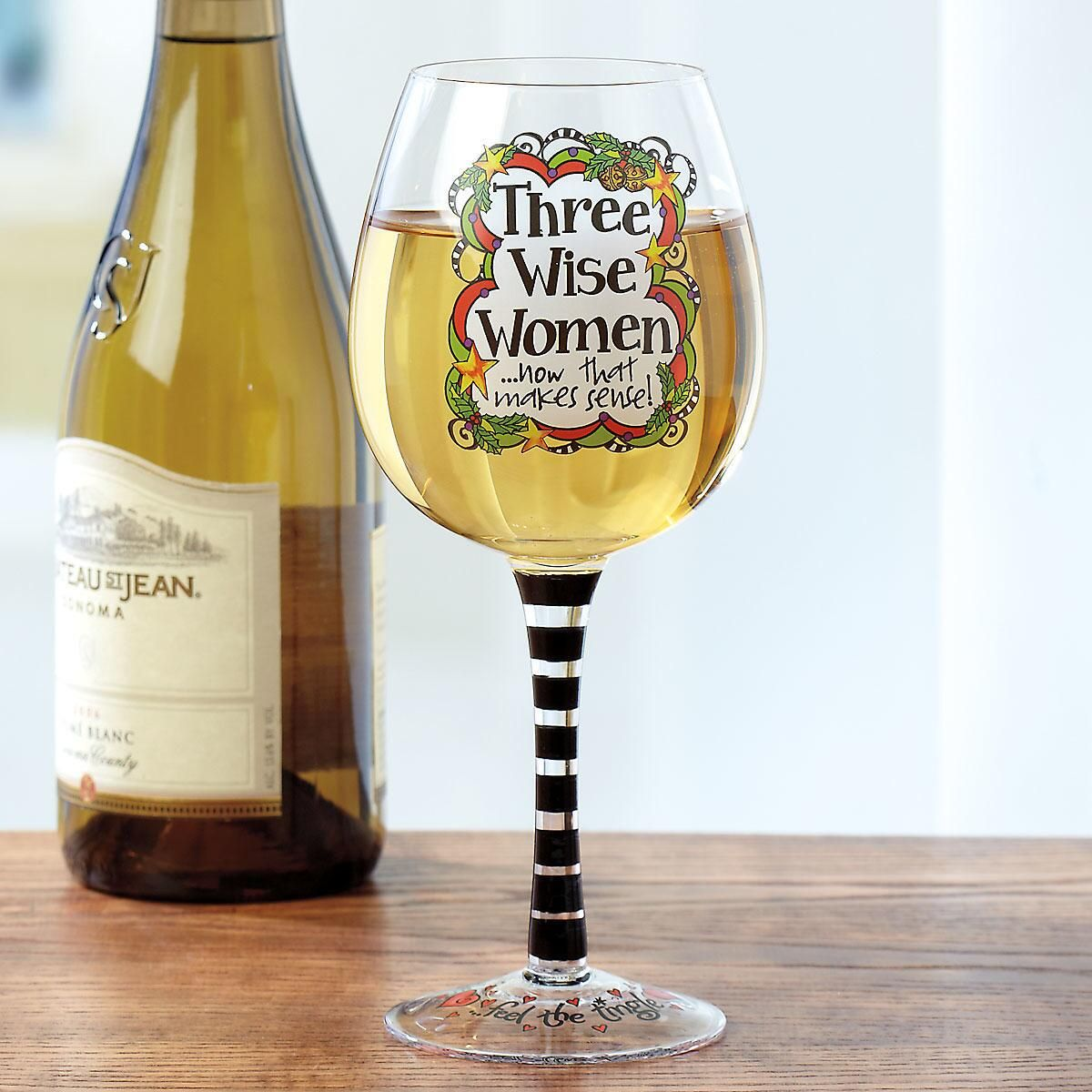 Wine Women Wine Glass