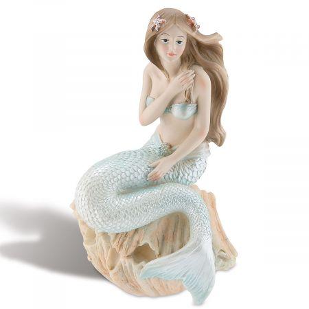 Sitting Mermaid Figurine