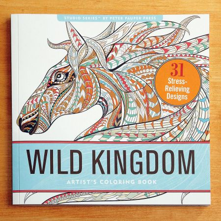 Wild Kingdom Coloring Book