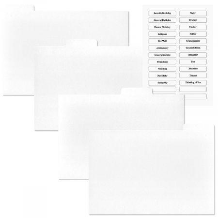Greeting Card Organizer Box Refills