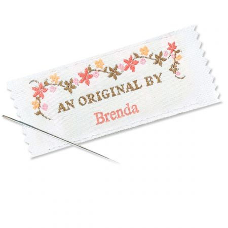 An Orginal By Personalized Sewing Labels