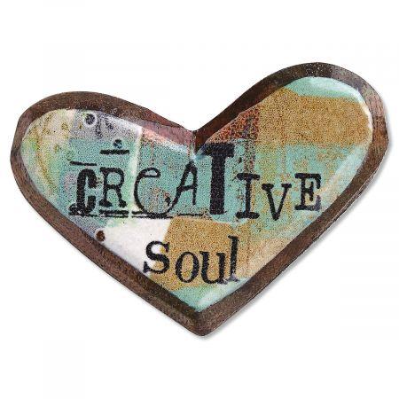 Creative Soul Wooden Pin