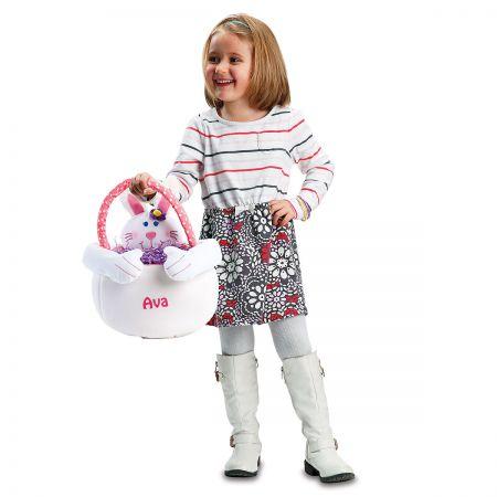 Kids Custom Easter Bunny Tote