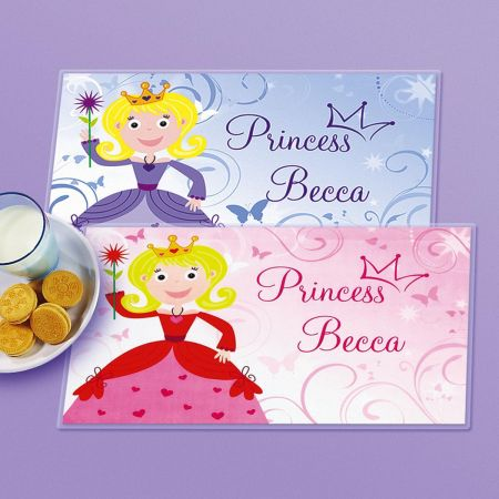 Kids' Princess Personalized Placemats