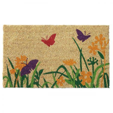 Butterfly Coco-Fiber Doormat