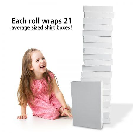 Plain Kraft Gift Wrap Jumbo Rolls