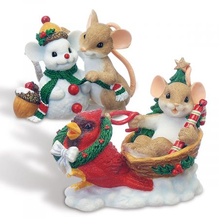 Christmas Figurines by Charming Tails®