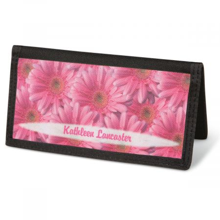 Daisy Delight  Checkbook Cover - Personalized