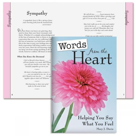 Words from the Heart Book