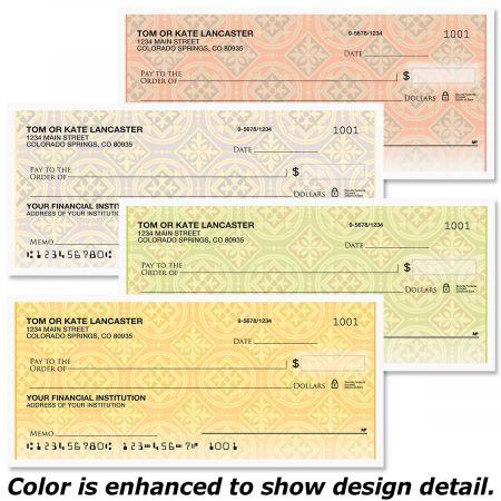 Italian Tile Personal Checks