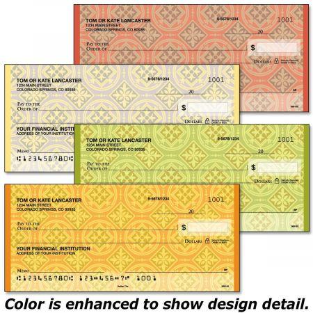Italian Tile Single Checks