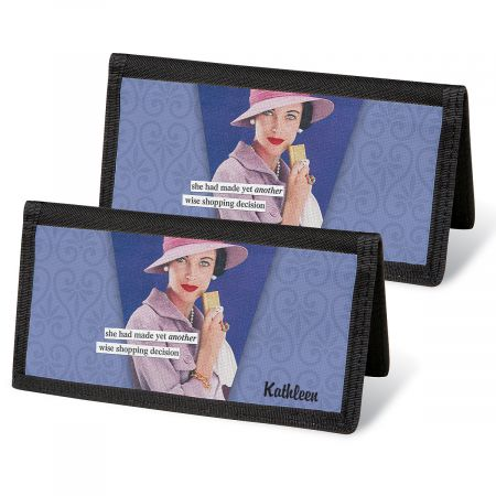 ©Anne Taintor Personal Checkbook Covers
