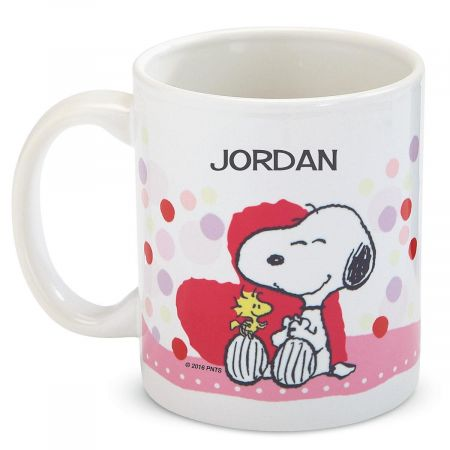 PEANUTS®  Personalized Valentine Novelty Mug