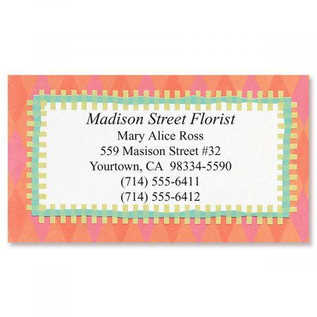 Bright Fun Business Cards