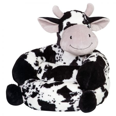 Plush Cow Children's Character Chair