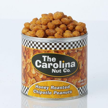 Honey Chipotle Peanuts
