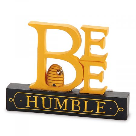 Bee Humble Resin Decoration