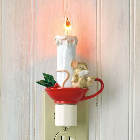 Candle Night Light by Charming Tails®