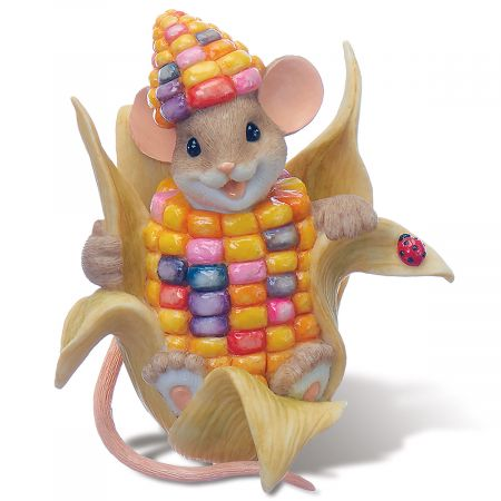 Mouse Corn in Husk by Charming Tails®