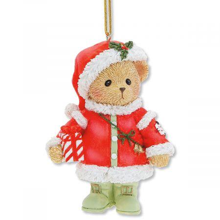 Cherished Teddies® Santa Bear Ornament ... - Cherished Teddies® Santa Bear Ornament Colorful Images