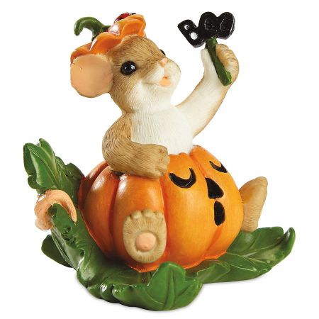 Jack-o'-Lantern Mouse by Charming Tails®