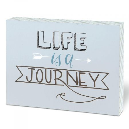 Life is a Journey Wall Plaque