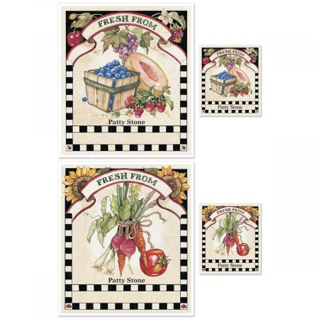 Sandi's Farmer's Market Canning Labels - Small