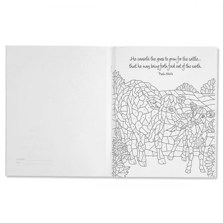Psalms Mosaic Coloring Book