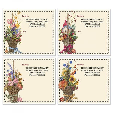 Sandi's Four Seasons Package Labels  (4 Designs)