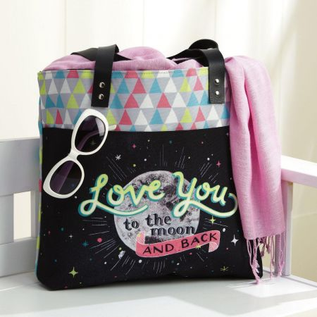 Moon and Back Tote Bag