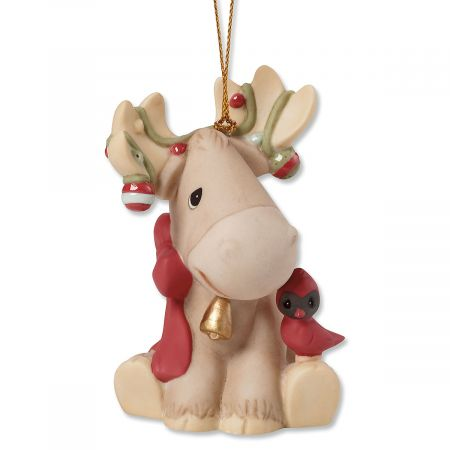 Wonderful Time of Year Moose Christmas Ornament by Precious Moments®