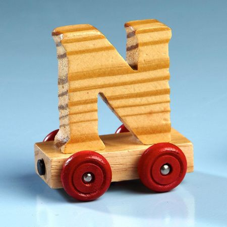Car Letter N